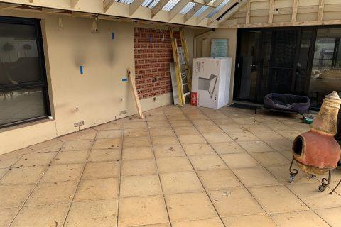new veranda